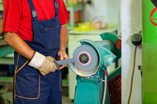 An image of an abrasive wheel - Abrasive Wheel Safety Training