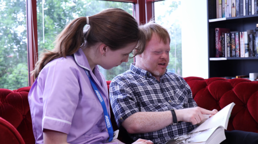 A patient and their carer -  Person-Centred Care Training