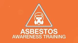 Asbestos awareness training youtube thumbnail