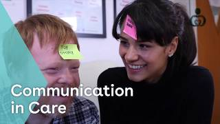 Comms in care youtube thumbnail
