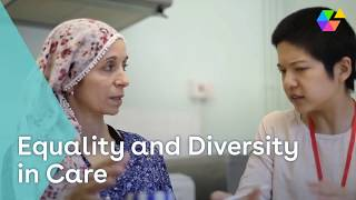 Equality & diversity in care youtube thumbnail