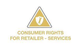 Consumer rights - services youtube thumbnail