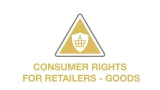 Consumer rights - goods youtube thumbnail