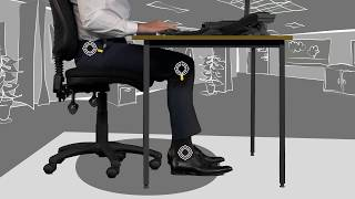 Correct sitting posture youtube thumbnail