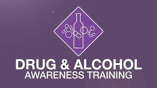 Drug & alcohol awareness training youtube thumbnail
