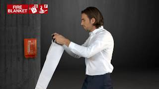 When to use fire blankets youtube thumbnail
