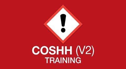 COSHH V2 Training  youtube thumbnail