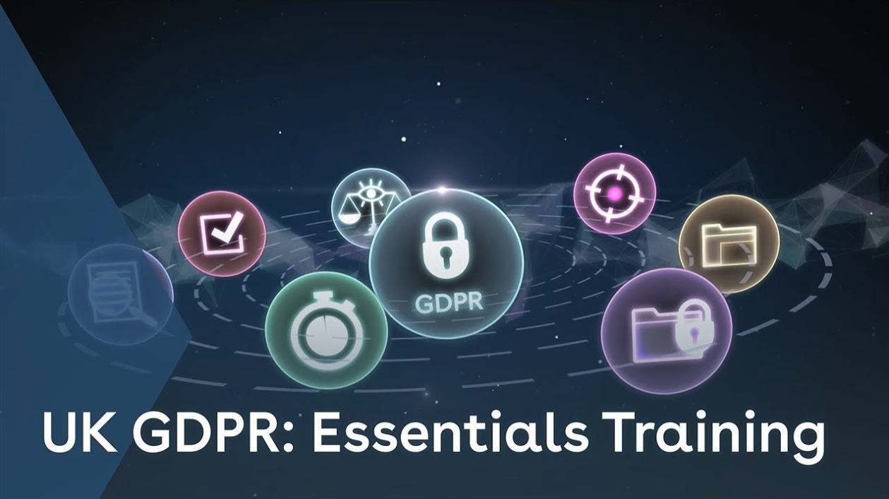 UK GDPR Essentials Training youtube thumbnail