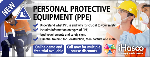 iHasco's Personal Protective Equipment (PPE) online training course
