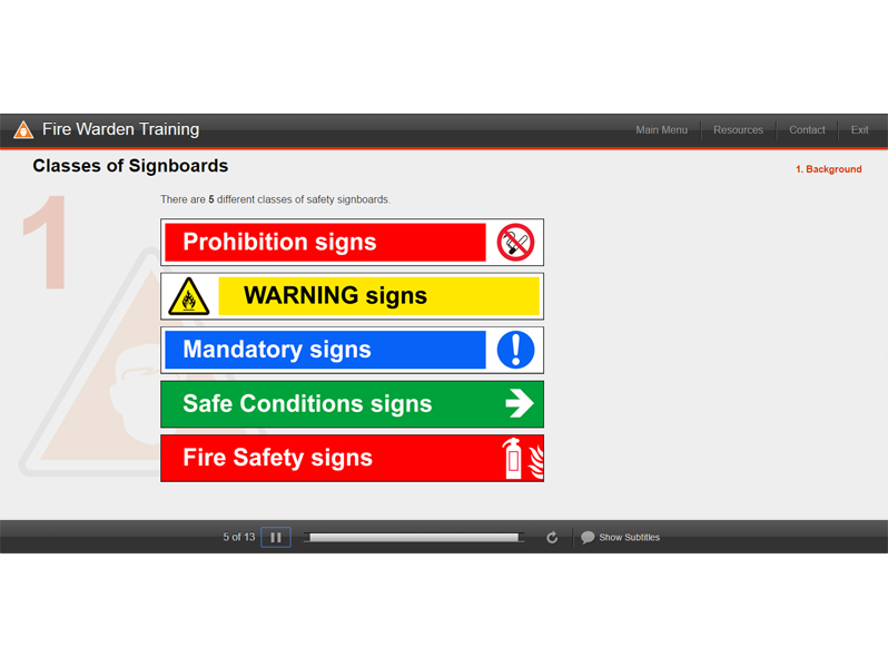 Fire Warden And Fire Marshal Training Courses Online, Background