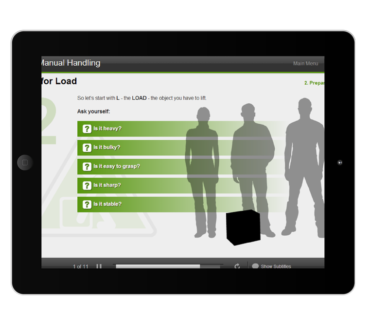 iHasco courses now work beautifully on ipads