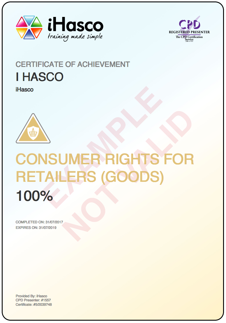 customer rights uk (1)every contract to supply goods is to be treated as including a term that the quality of the goods is satisfactory (2)the quality of goods is.