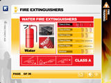 Fire First Aid - extinguisher use section from the brilliant Fire Warden Training by iHasco.co.uk